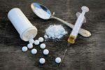 heroin pills syringe